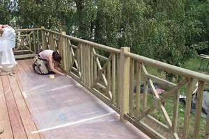 Balustrade En Bois : idee garde corps terrasse 10 en bois pour l mission d co ~ Melissatoandfro.com Idées de Décoration