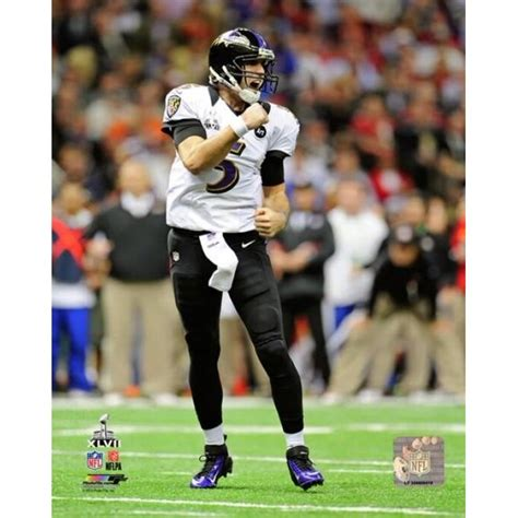 Joe Flacco Super Bowl XLVII Action Photo Print - Item ...