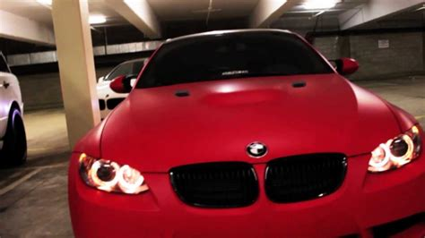 project bmw   wrapped  ultra matte red  dbx