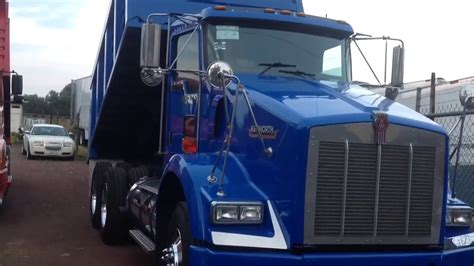 volteo de 14m kenworth chasis 2016 azul youtube