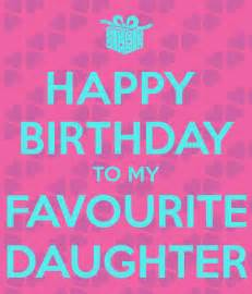 Happy Birthday Favorite Daughter