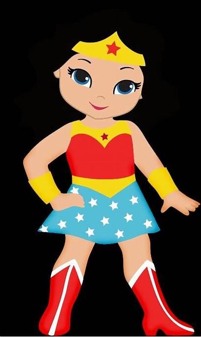 Party Mujer Maravilla Wonder Woman Clipart Superhero