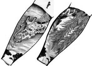 Half Sleeve Tattoo Designs On Paper