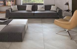 Livingroom Tiles Make A Statement With Large Floor Tiles