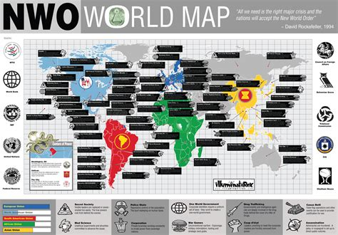 nwo illuminati nwo world map illuminati rex