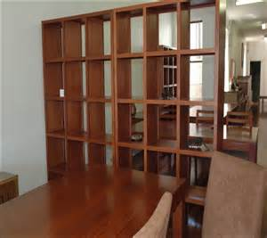 White Bookcase Room Divider