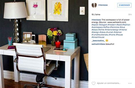 deco de bureau instagram une tonne d idées pour un joli bureau cocon