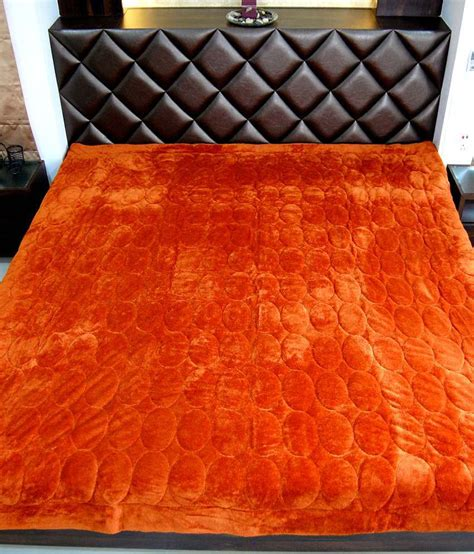 rust velvet collections colored luxurious comforter