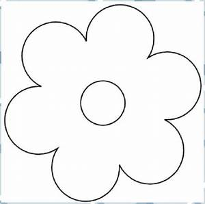 Einfach, Blumen, Malvorlagen, 01, Blumen, Blumen, Basteln