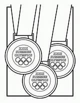 Medal Olympic Coloring Olympics Gold Medals Drawing Summer Xxix Clipart Getdrawings Abcteach Past Coloringhome sketch template