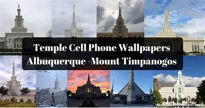 Temple Phone Timpanogos Mount Cell Wallpapers Albuquerque