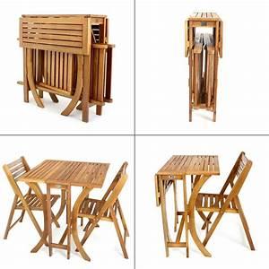 Balkontisch Und Stühle : balkonset tisch 2 st hle mehrfach klappbar akazie ~ A.2002-acura-tl-radio.info Haus und Dekorationen