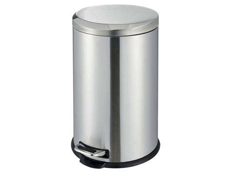 poubelle de cuisine carrefour poubelle cuisine 20 l dusty 4 coloris argenté vente de
