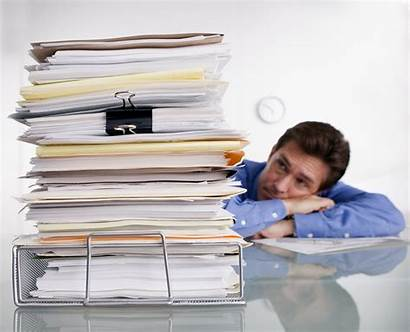 Paper Office Stacks Possibility Paperless Myth Organized