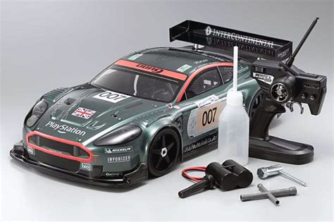Aston Martin Rc Car by Kyosho Aston Martin Racing Dbr9 31814 1 8 4wd Nitro Rc Car