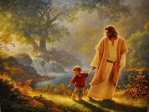 Jesus Christ Walks with Me by myjavier007 on DeviantArt