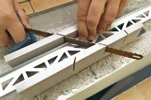 How To Cut Small Tiles by Installing Tile Edging Howtospecialist How To Build