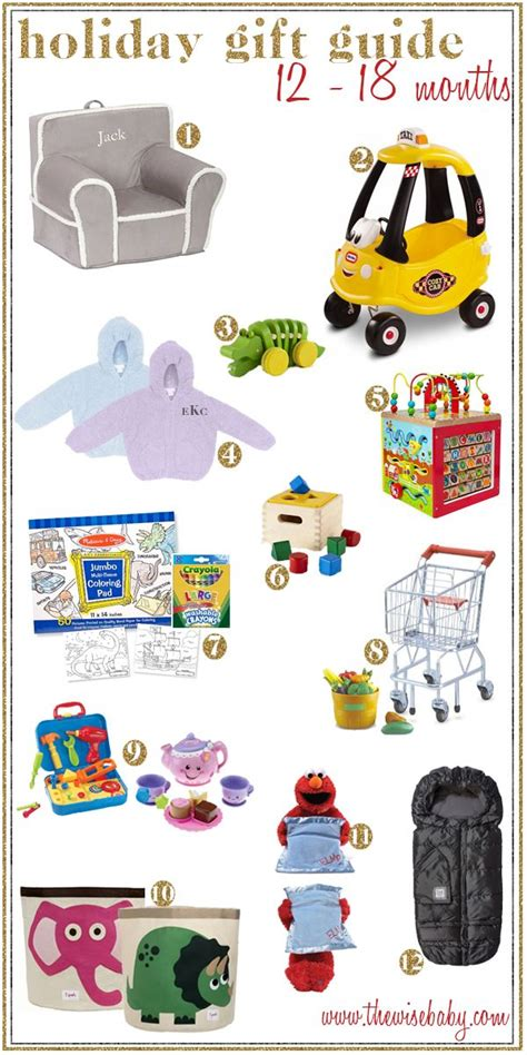 chrsitmsa gift idesa for 18 month old from baby to toddler these gift ideas are sure to any 12 18 month your list
