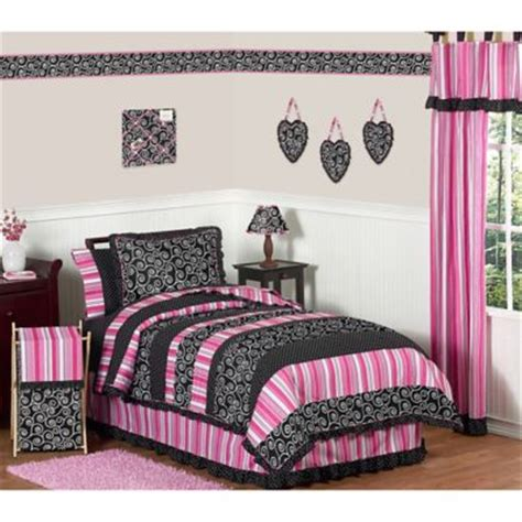 bedroom pink and black buy pink and black bedding sets from bed bath beyond 14375 | 5215563251435m