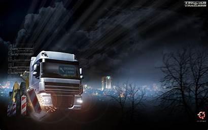 Trucks Trailers Wallpapers Ets2 Scs Software Job