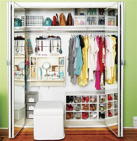 Organize Closet by Closets Real Simple
