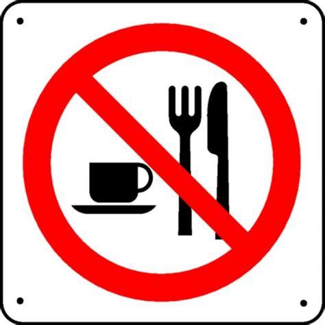 passage de cable bureau panneau interdiction de manger picto stocksignes