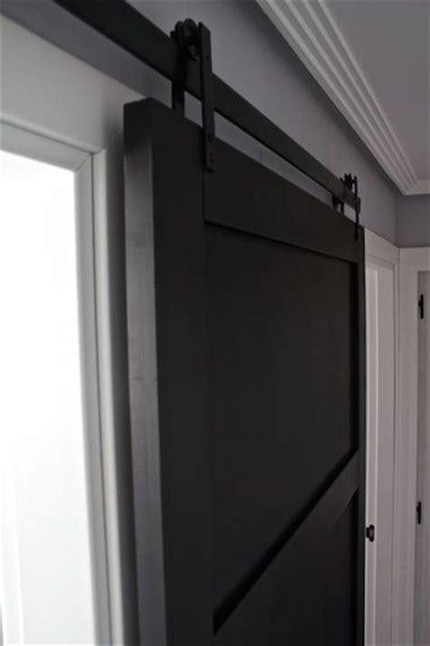modern sliding barn door kitchen  diy