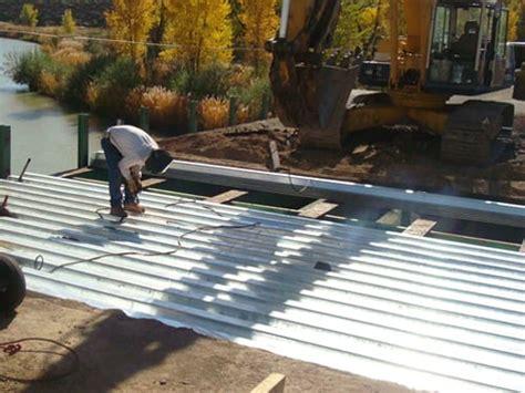 contech bridge plank  deck rehab   construction
