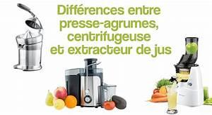 Différence Entre Extracteur De Jus Et Centrifugeuse : diff rences entre presse agrumes centrifugeuse et ~ Nature-et-papiers.com Idées de Décoration