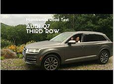 Audi Q7 2017 Third Row YouTube