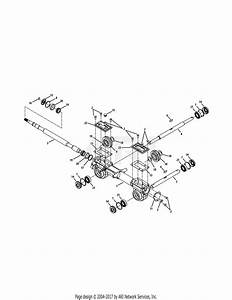 Mtd 21aa404b000  2011  Parts Diagram For Transmission 400 Series
