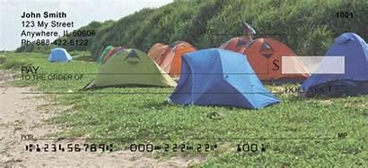 Camping Tent Checks Outdoors Personal 123cheapchecks