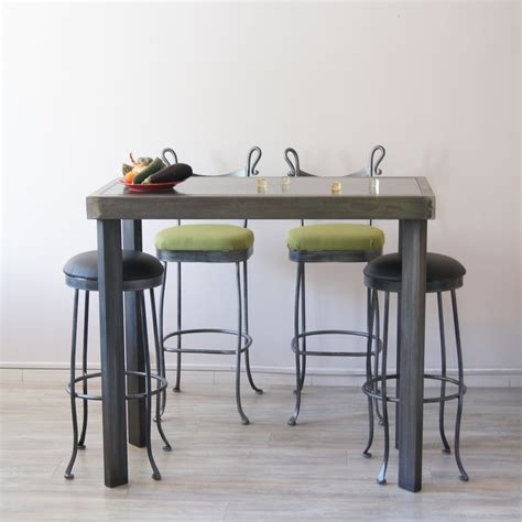 table rabattable cuisine fabriquer une table bar