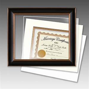 standard size document frames complete frame mat With document frame with mat