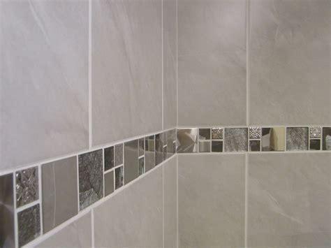 10 30m2 or Sample Travertine Effect Grey Bathroom Wall
