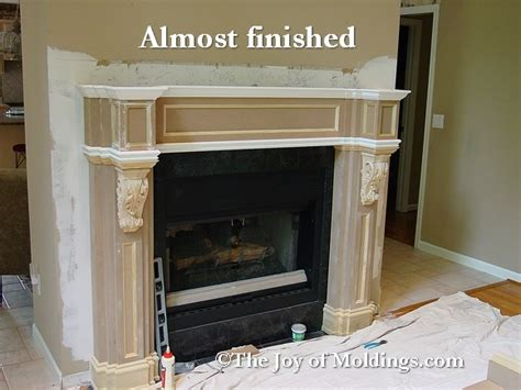 fireplace surround plans custom fireplace mantels plans free pdf woodworking