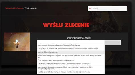 polski czat wsparcia gracza league of legends