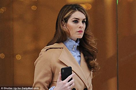 Hope Hicks will FINALLY testify before House Intel
