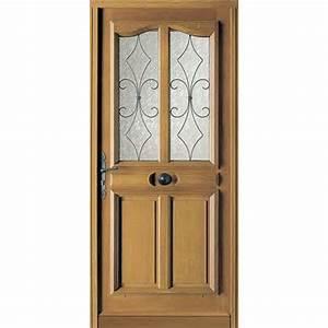 Porte entree maison bois myqtocom for Porte d entrée pvc en utilisant porte entree pvc couleur bois