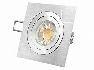 Led Einbaustrahler Ip44 Schwenkbar : qf 2 led einbaustrahler schwenkbar alu 5w led warmwei dimmbar gu10 230v in toller halogenoptik ~ Bigdaddyawards.com Haus und Dekorationen