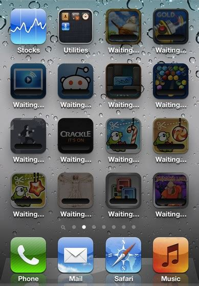 iphone apps waiting ios bugs all apps stuck on quot waiting quot to install imore
