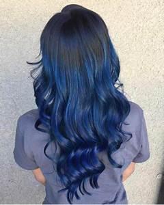 Blaue Haare Ombre : blaue ombre haare farbe frisuren 2018 ~ Frokenaadalensverden.com Haus und Dekorationen