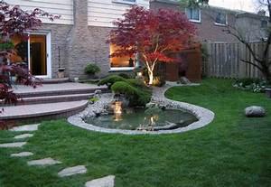 erable du japon dans le jardin en 55 idees d39amenagement With amenagement jardin avec pierres 9 terrasses les artisans du jardin