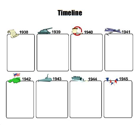 timelines  kids template business