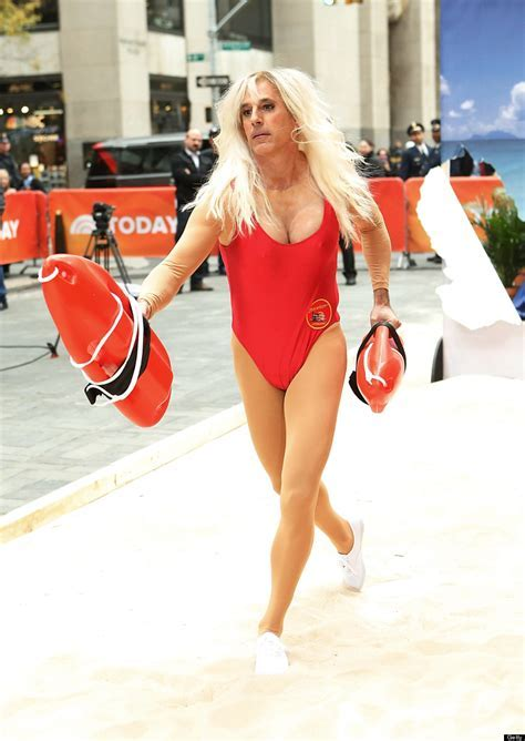 Matt Lauer's Halloween Costume Is 'Baywatch' Star Pamela