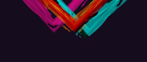 minimalistic abstract colors simple background