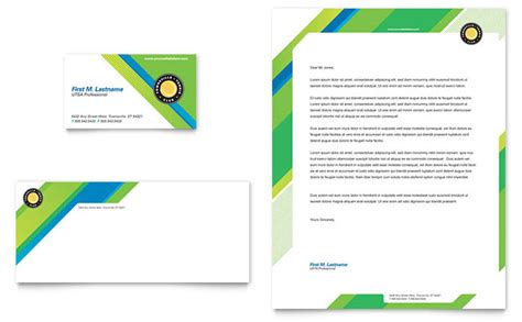 tennis club camp business card letterhead template design