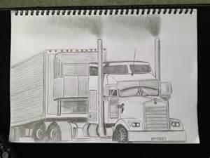 Kenworth Truck Drawings