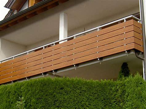 Balkonverkleidung Aus Kunststoff by Kunststoff Holzdekor Foliert