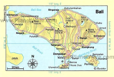 bali tourist attractions map  joshymomoorg